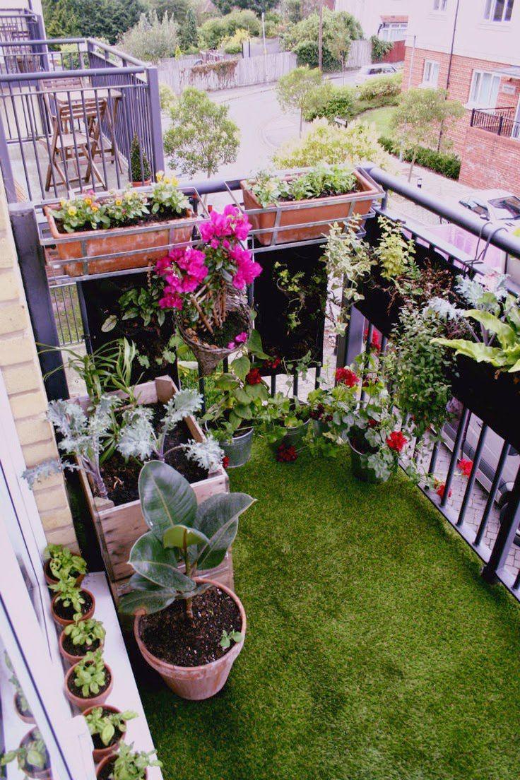 5 Cara Mudah Ciptakan Desain Taman Cantik Minimalis di Balkon