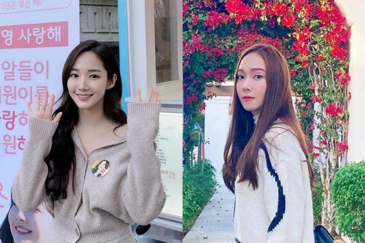 9 Momen Kompak Jessica Jung & Park Min Young yang Jarang Terekspos