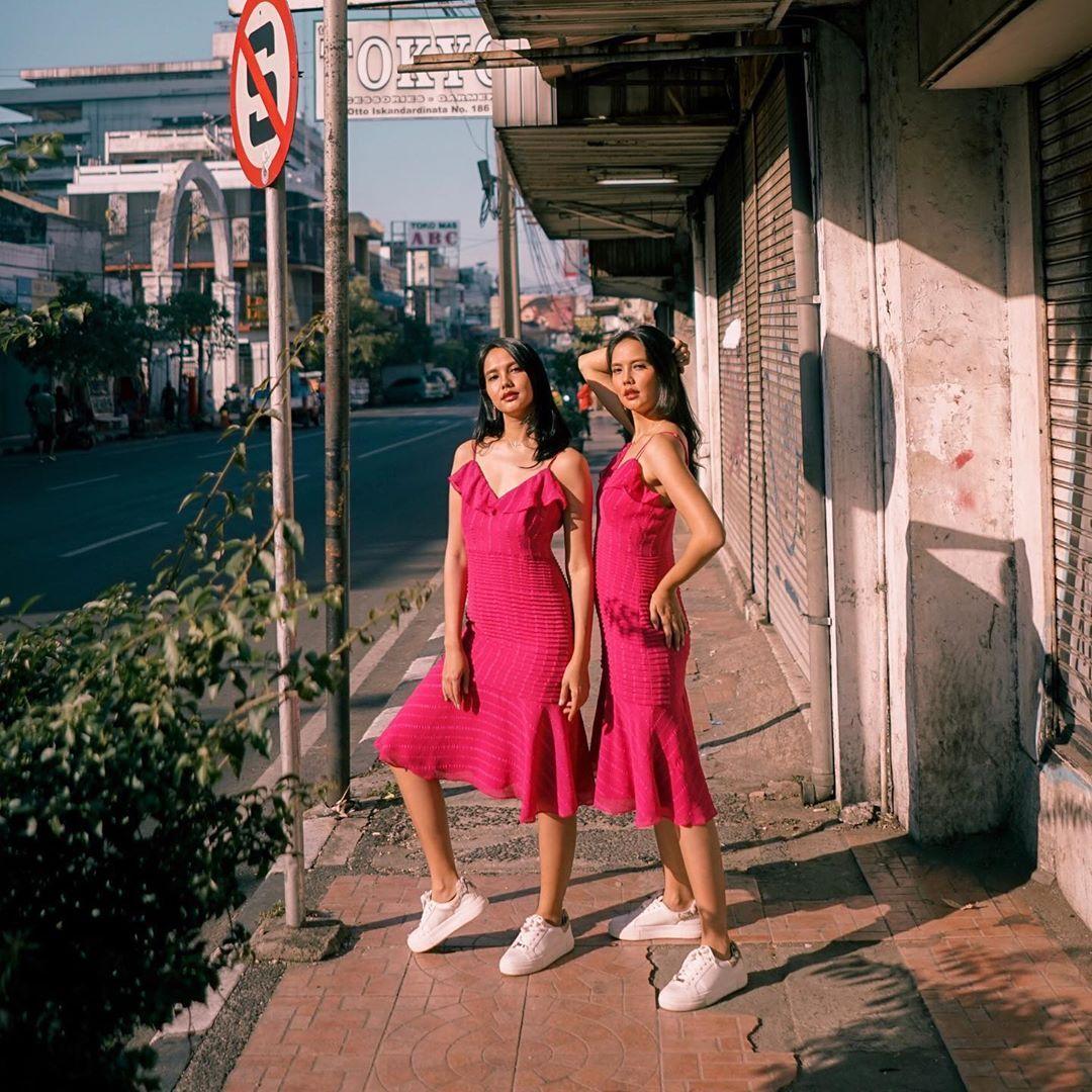 Intip Deretan Gaya Selebgram Indonesia dengan Kembarannya