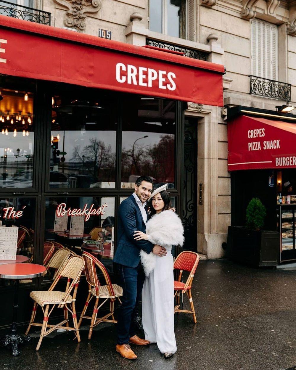 Jatuh ke Pelukan Bule, Intip 9 Foto Pre-Wedding Chef Marinka & Kekasih