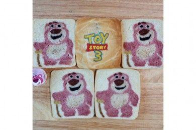 So Cute Cobain Sarapan Kreasi Roti Tawar Aplikasi Karakter