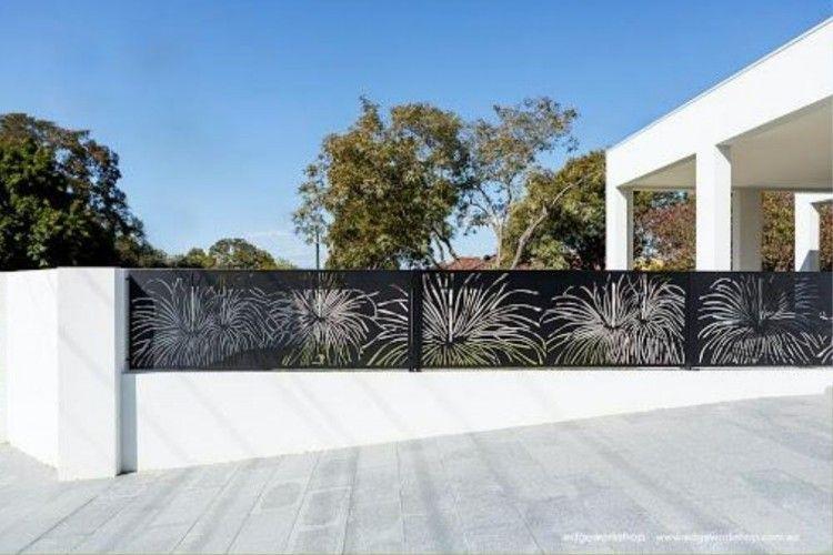 11 Model Pagar Besi Mewah Minimalis Yang Bikin Rumah Indah