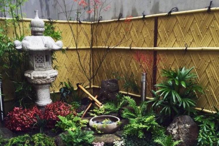 20 Desain Pagar Bambu Minimalis Dan Unik Rumah Jadi Asri