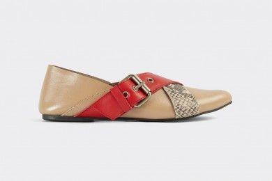 PopbelaOOTD Tampil Manis Flat Shoes Brand Lokal