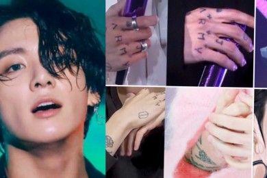 Sosok Sensitif, Ini Arti Balik 10 Tato Jungkook BTS
