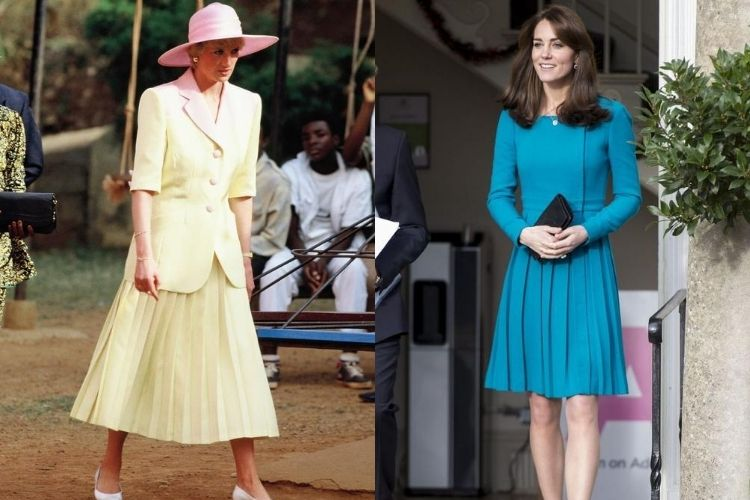 Gaya Putri Diana dan Kate Middleton yang Ternyata Mirip!