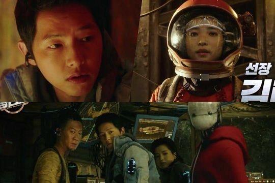 Si Pilot Masa Depan, 7 Fakta Space Sweepers Film baru Song Joong Ki