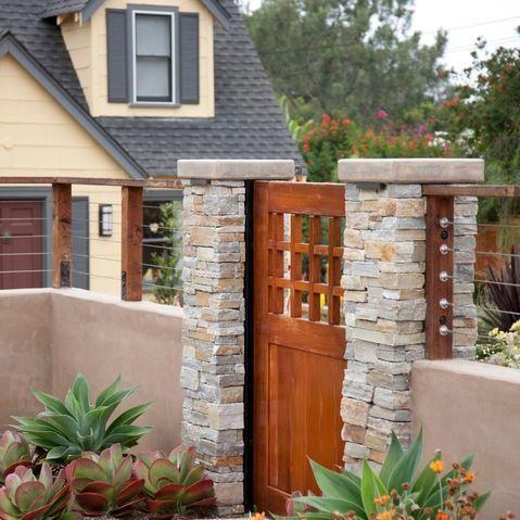 10 desain pagar tembok rumah minimalis,mewah dan modern