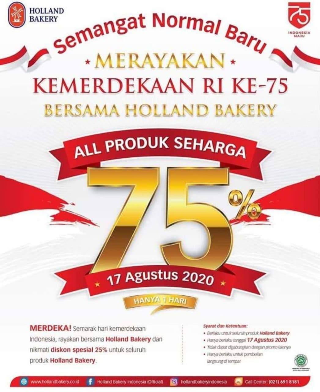Diskon Besar 25 Restoran dan Kafe Sambut Hari Kemerdekaan RI ke 75!