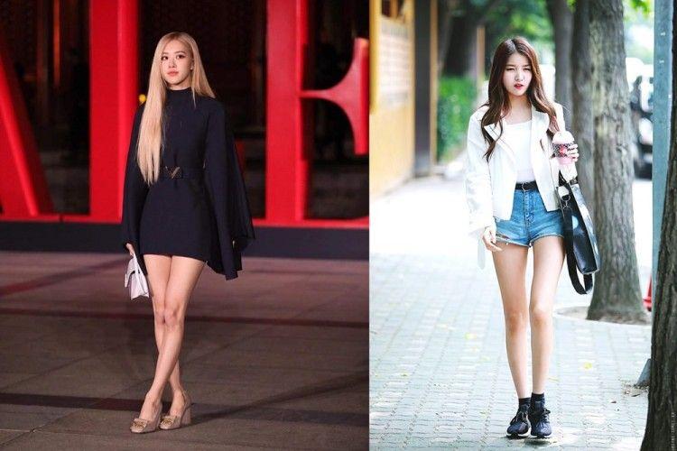 8 Idol Kpop Wanita Yang Punya Kaki Ramping Seperti Model