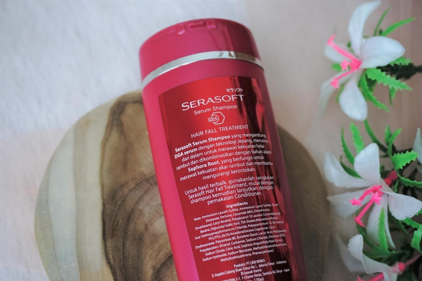 Rambut Jadi Nurut dengan Serasoft Serum Shampoo & Conditioner