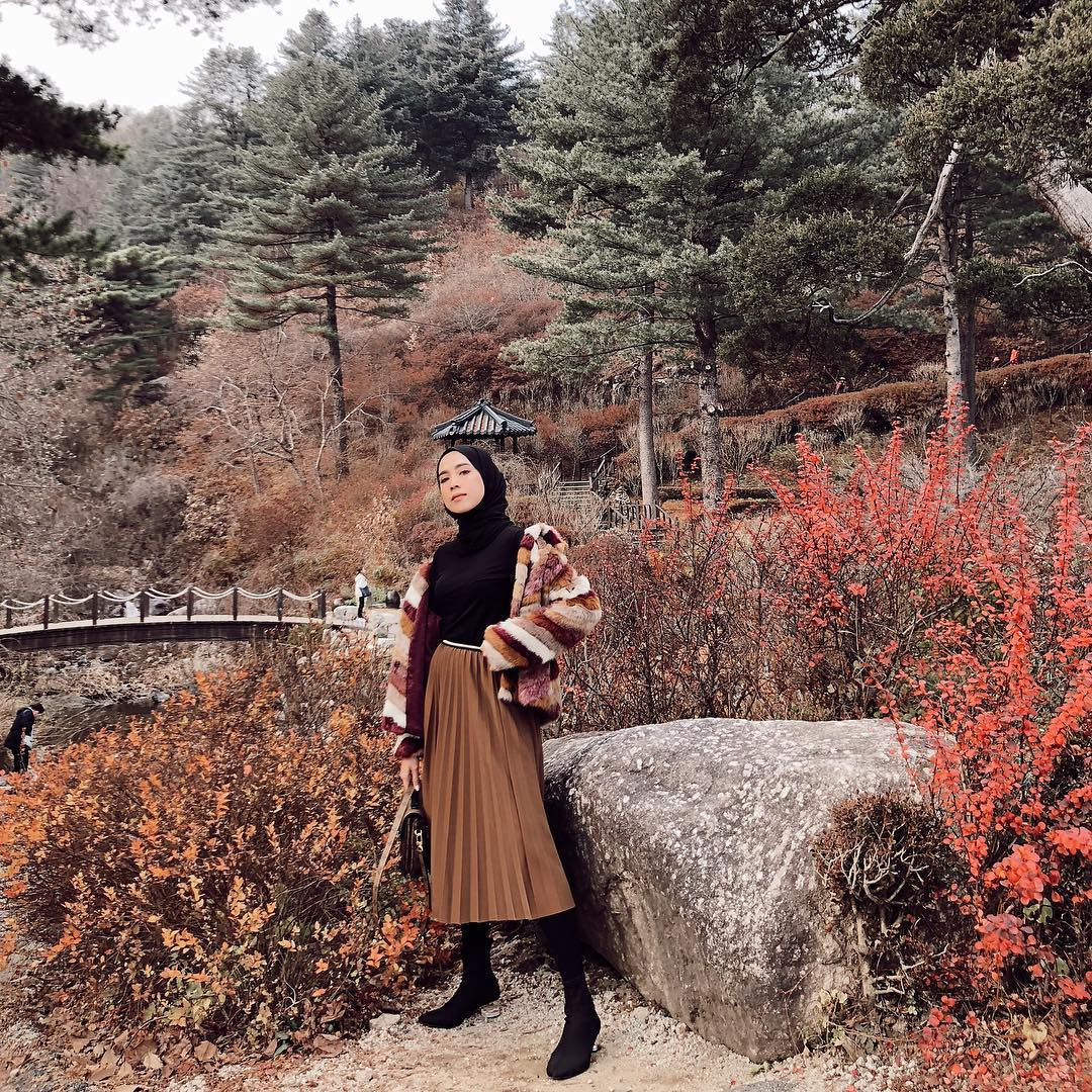 Mix N Match Midi Skirt untuk Hijabers