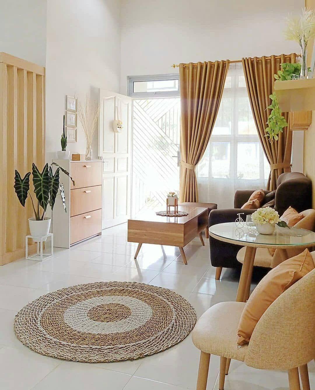 10 Desain Ruang Tamu Minimalis Cantik Dan Instagramable Model ruang tamu minimalis
