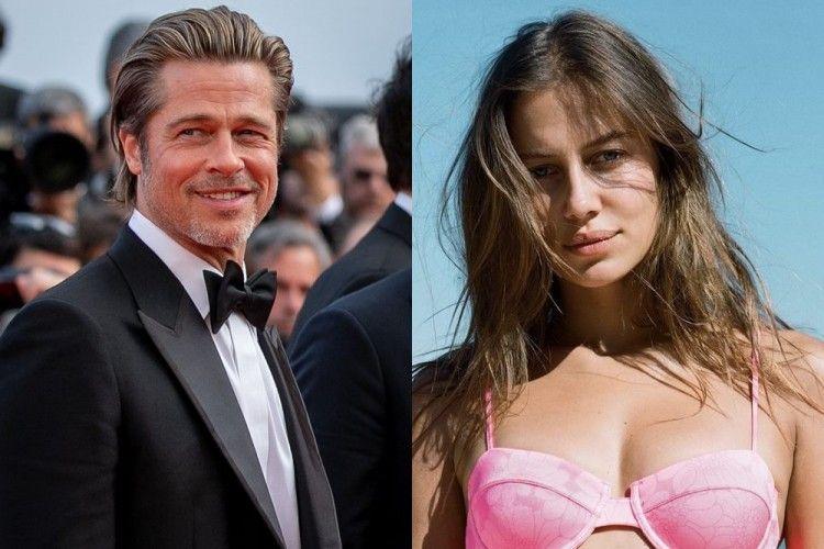 5 Fakta Nicole Poturalski, Model yang Disebut Pacar Baru Brad Pitt