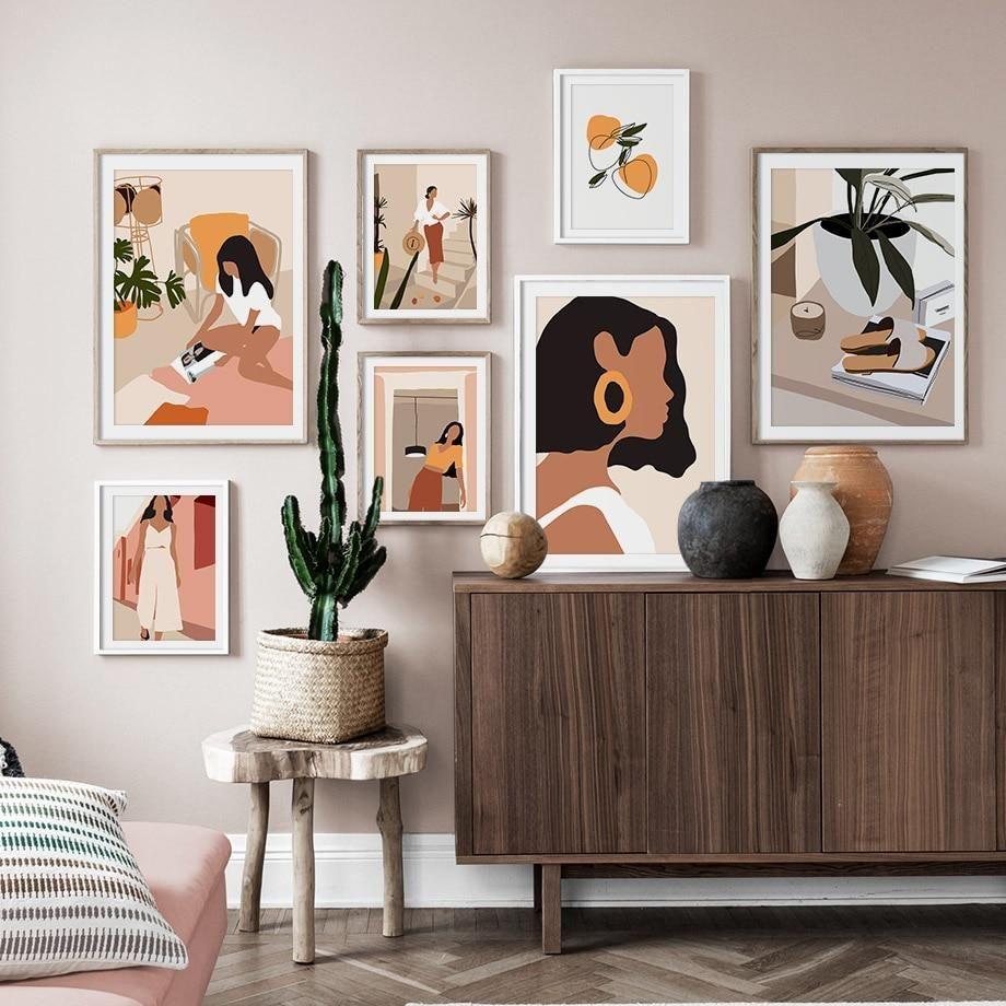 11 Cara Menata Frame di Rumah Minimalis Ini Buat Ruangan Lebih Estetik