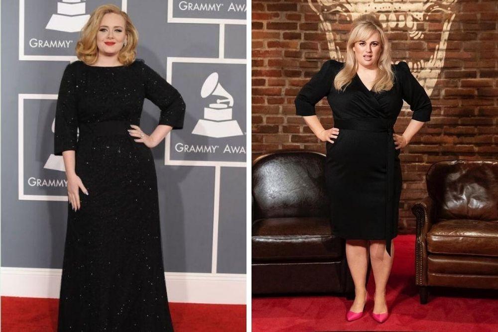 Sama-sama Makin Langsing, Begini Perbandingan Adele vs Rebel Wilson