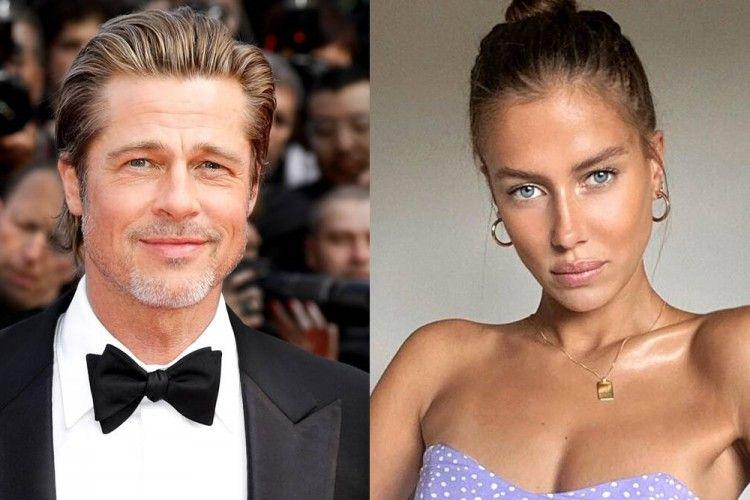 Terungkap, Pacar Baru Brad Pitt Ternyata Berstatus Istri Orang