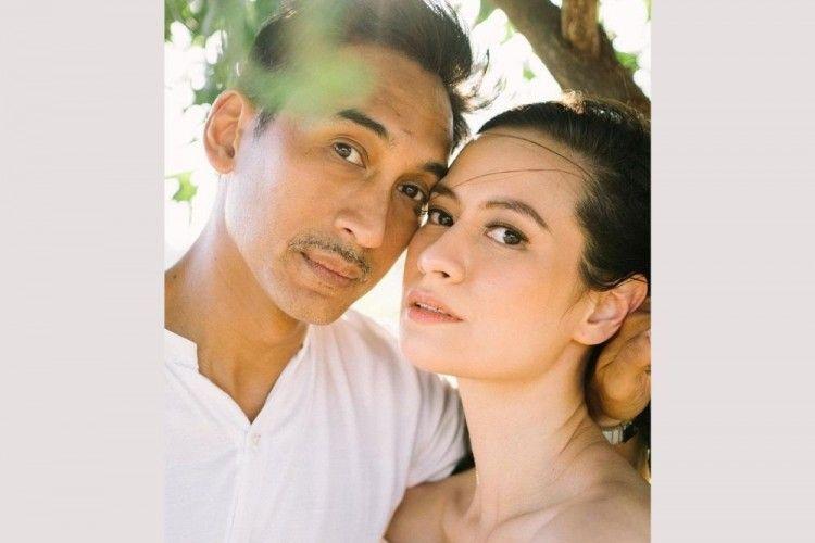 10 Tahun Pacaran, Intip Foto Pernikahan Restu Sinaga dan Vicky Monica