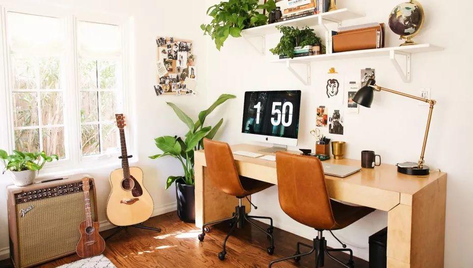 WFH Asyik dengan 9 Ide Desain Ruang Kerja Minimalis