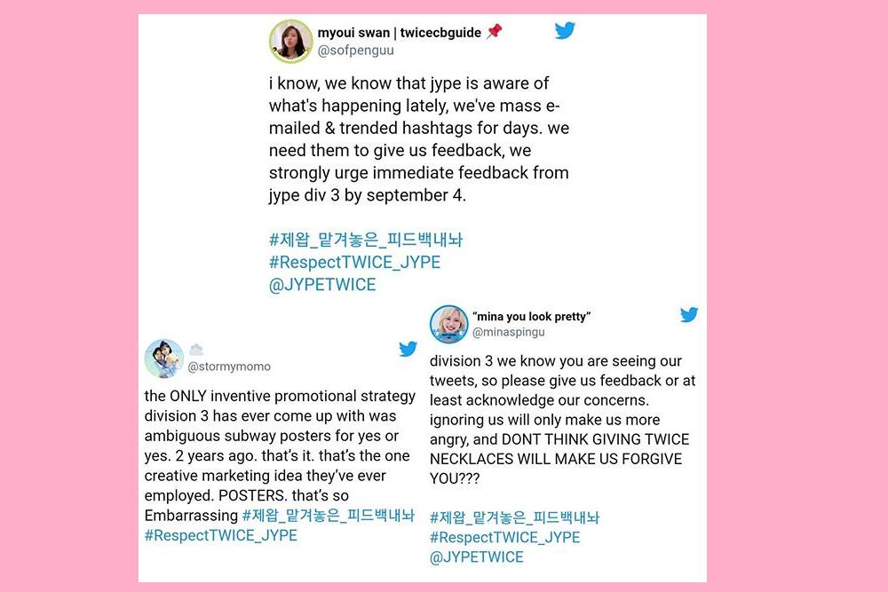 TWICE Dinilai Tak Layak Dapatkan 7 Hal Ini, Fans Kritik JYP Ent.