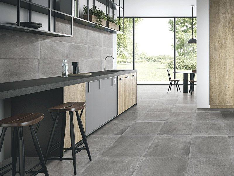 9 Desain Keramik Lantai Dapur Minimalis Kekinian Bikin Betah