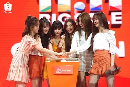 Saksikan Penampilan GFRIEND di TV Show Shopee 9.9 Super Shopping Day!
