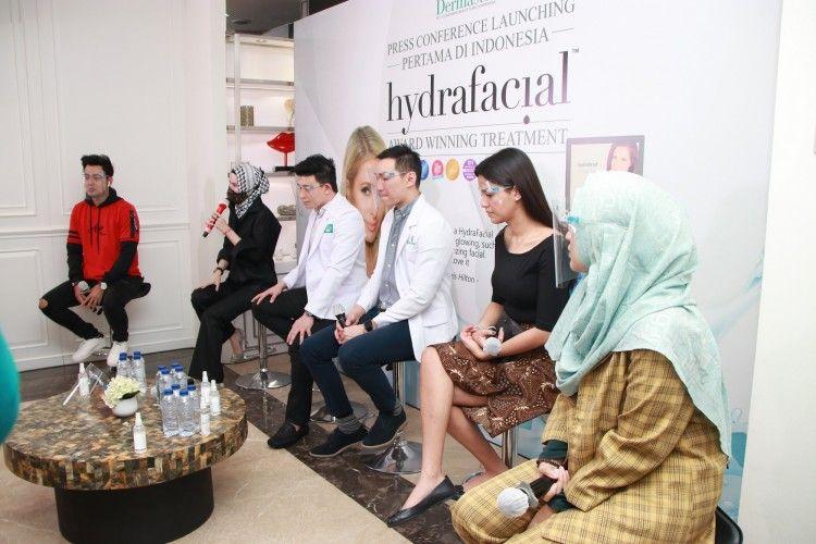 Hydrafacial Dermaster Jadi Treatment Facial Terbaik Dunia