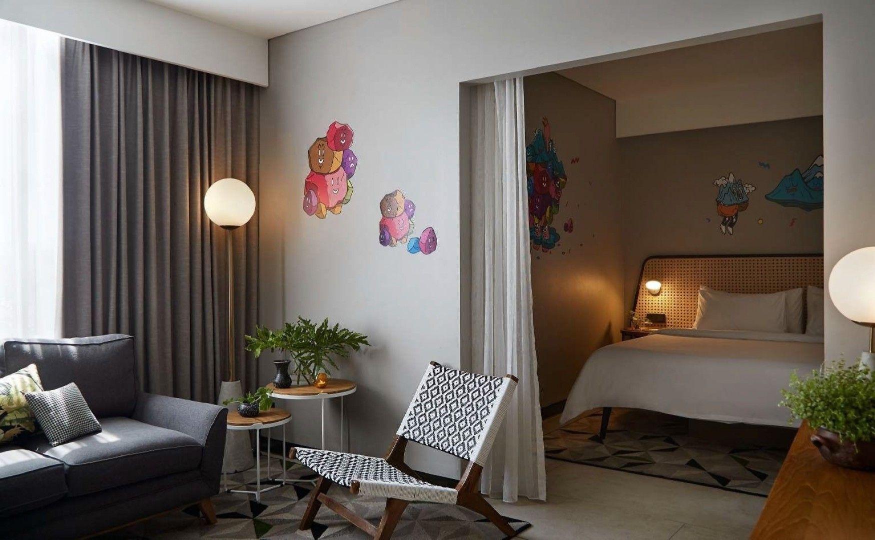 Hotel-Hotel dengan Desain Kamar Minimalis yang Instagrammable
