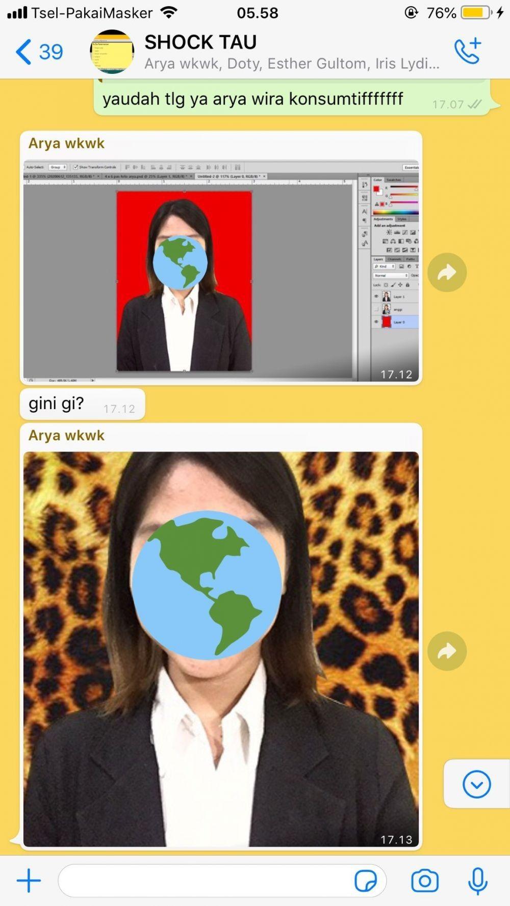 Tega Banget, 10 Editan Foto Teman Sendiri Ini Bikin Ngakak!