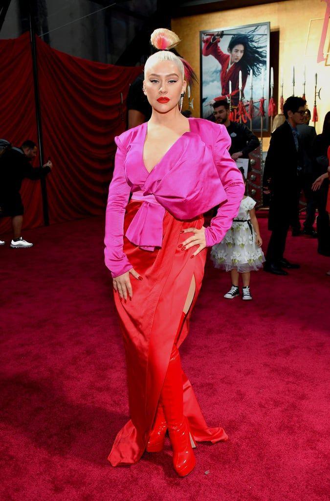Transformasi Gaya Christina Aguilera dari Nyentrik Hingga Glamor