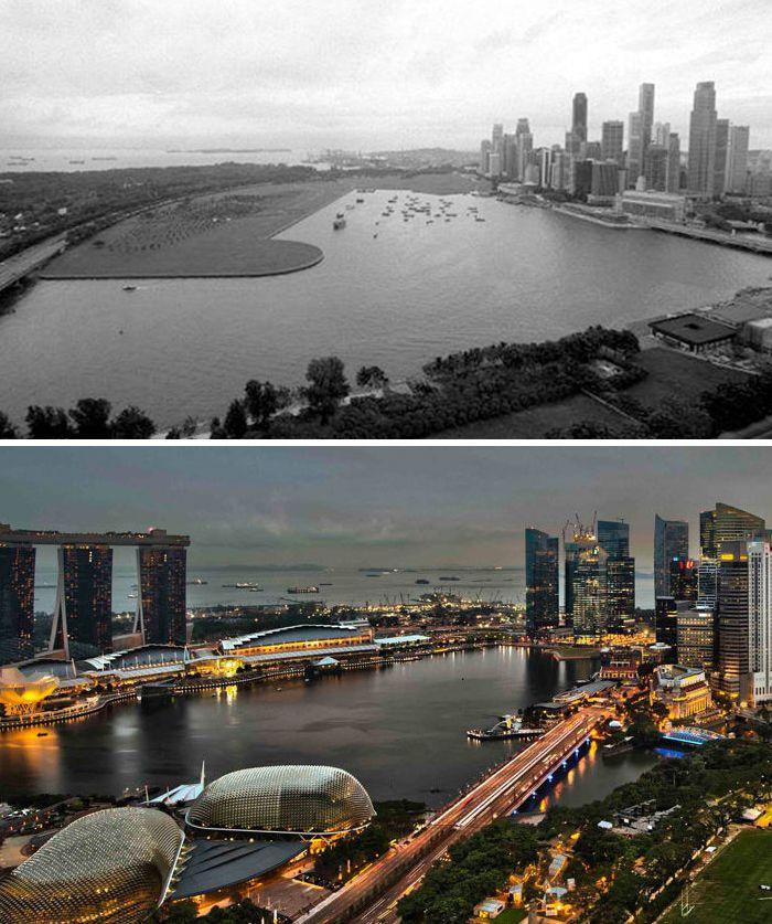 Jauh Berbeda, Begini 10 Perbandingan Kota di Dunia Dulu dan Sekarang