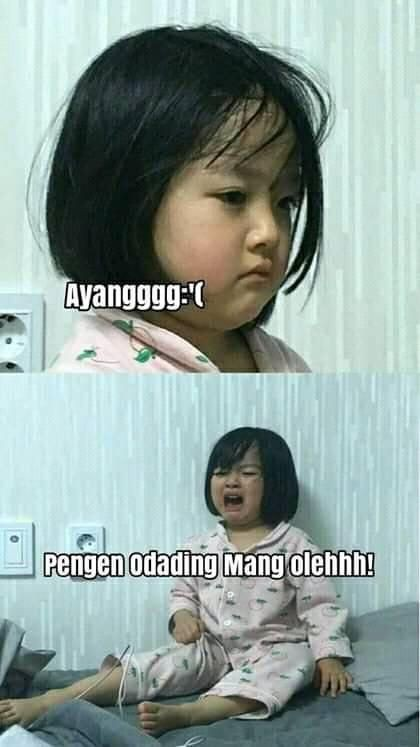 10 Meme Lucu 'Odading Mang Sholeh', Bikin Nggak Kuat Menahan Ketawa