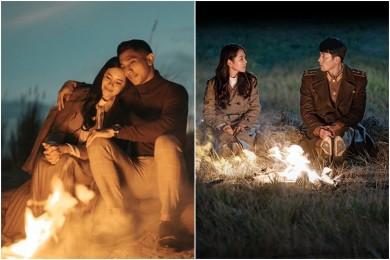 Keren 10 Foto Pre-Wedding Ini Terinspirasi 'Crash Landing on You'