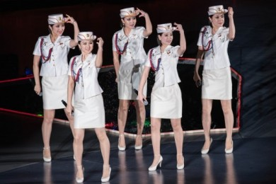Nggak Banyak Tahu, Begini Gaya Girlband Korea Utara