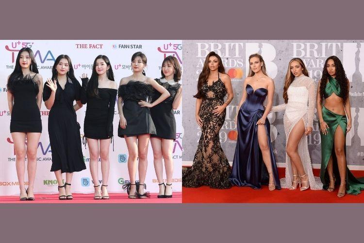 Perbandingan Gaya Girlband Korea Selatan vs Barat
