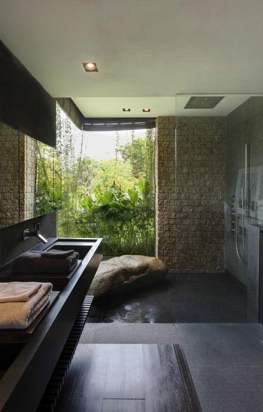 10 Desain Kamar Mandi Modern yang Bikin Kamu Nggak Lagi Males Mandi