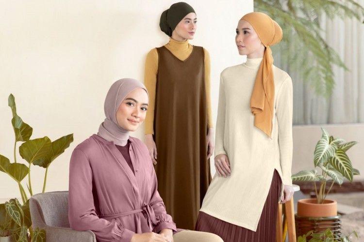 UNIQLO Indonesia & Ayudia C. Rilis 50 Gaya Hijab Minimalis F/W 2020
