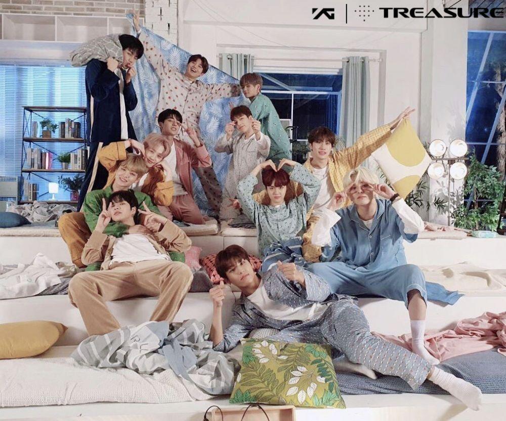 Comeback! Ini Lirik Lagu dan Terjemahan Lagu I Love You - TREASURE