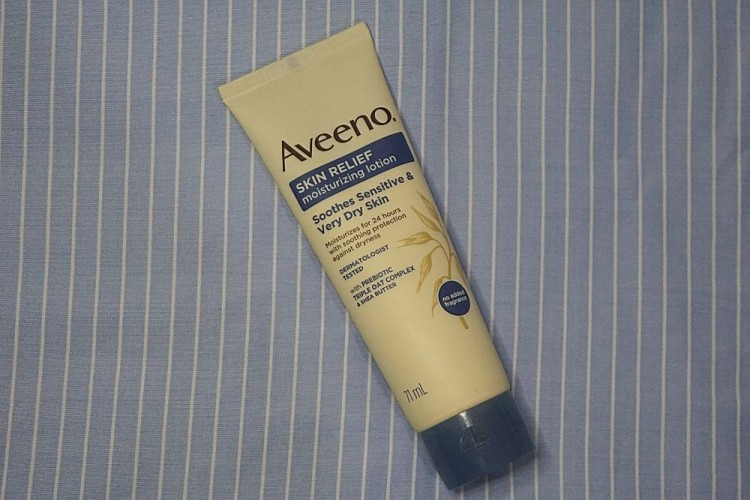 Review: Lembap Tanpa Lengket dengan Body Lotion dari Aveeno