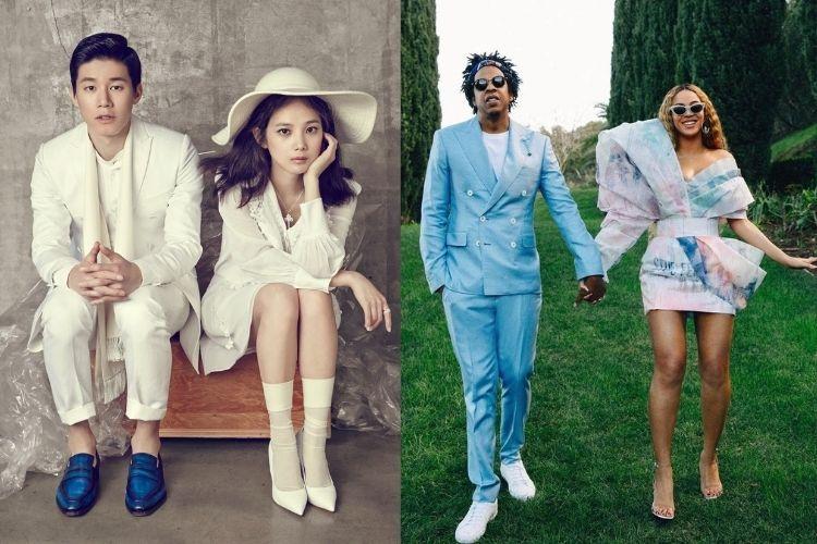 Perbandingan Gaya Pasangan Seleb Korea Selatan vs Barat