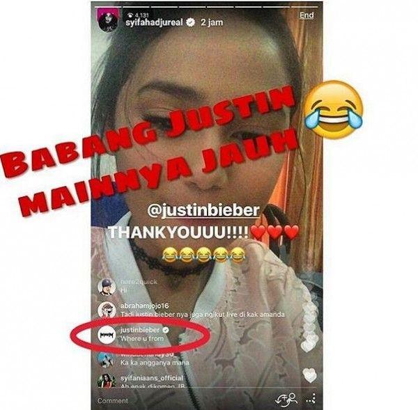 Vanesha Prescilla dan 4 Orang Indonesia Diikuti Justin Bieber