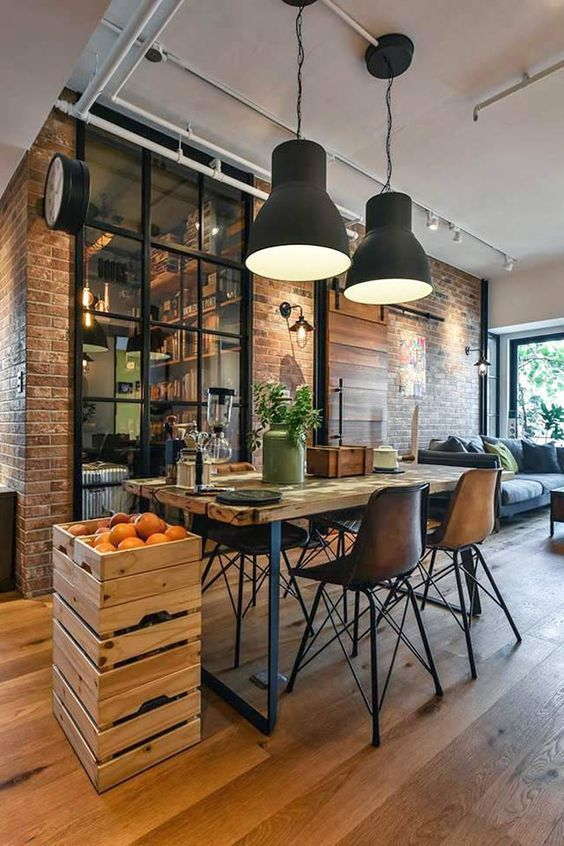 10 Inspirasi Desain Industrialis untuk Rumah Minimalis Kekinian