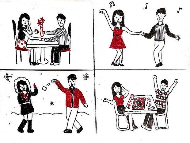 10 Ilustrasi Ini Menggambarkan Perjuangan LDR dengan Indah dan Manis!