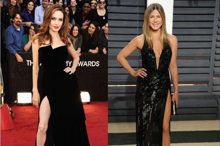 Jadi Mantan Brad Pitt, Ini Adu Gaya Angelina Jolie & Jennifer Aniston