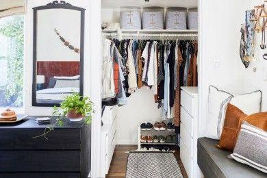 Before & After 7 Desain Walk-in Closet Sebagai Pengganti Lemari