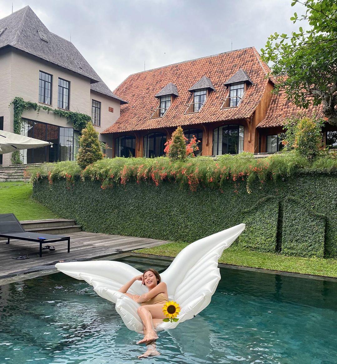9 Potret Kemilau Villa, Tempat Tinggal Jessica Iskandar di Bali