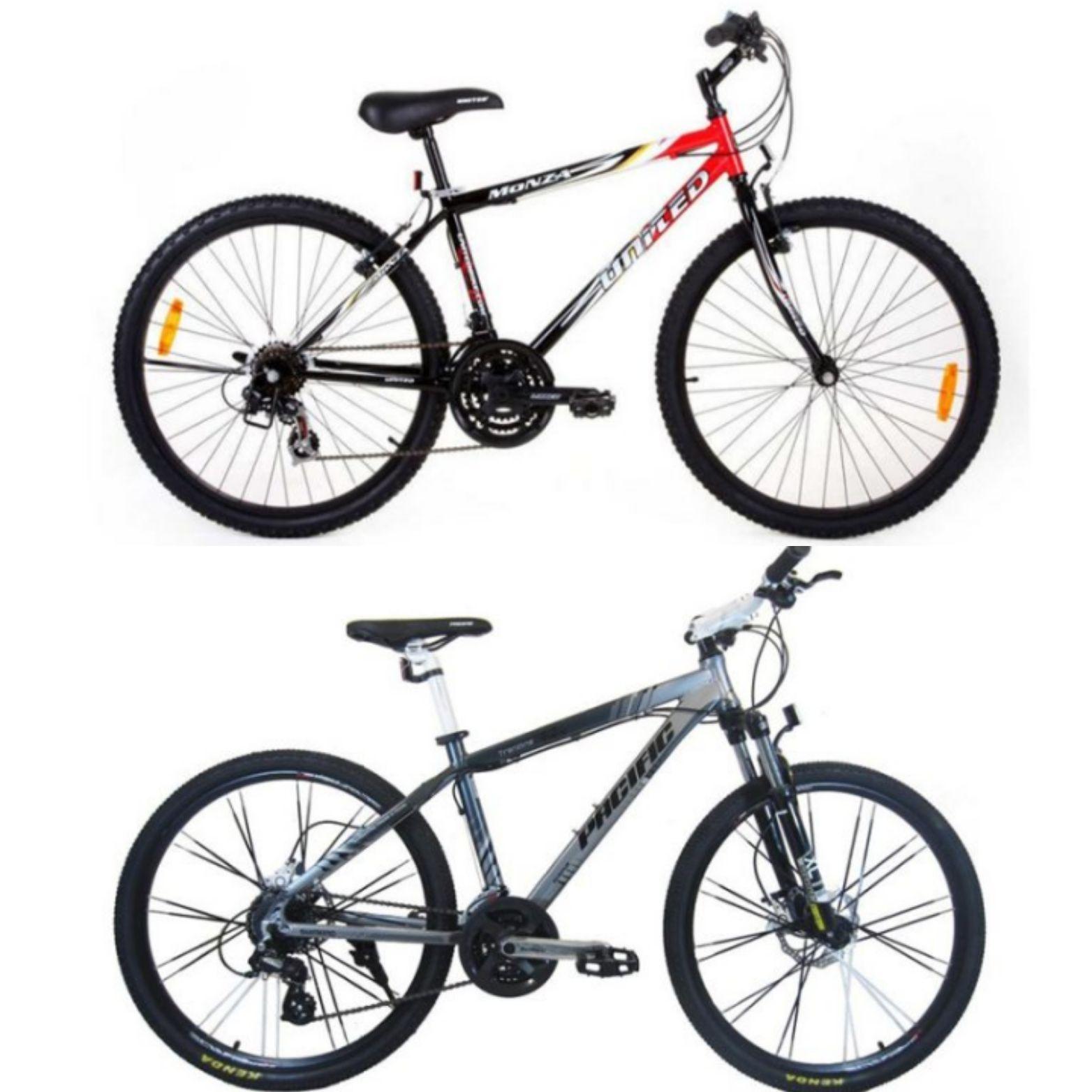 Paling Dicari, Ini Perbandingan Sepeda Pacific VS United