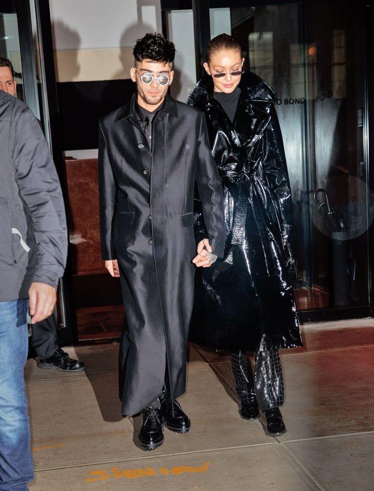 Intip Gaya Kembar Gigi Hadid & Zayn Malik, Layak Disebut Couple Goals!