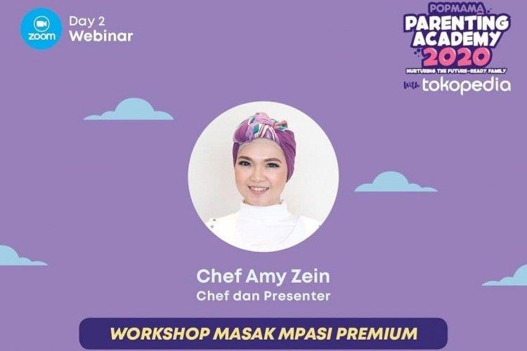 Mudah Dibuat, Ini 3 Resep MPASI Premium A la Chef Amy Zein
