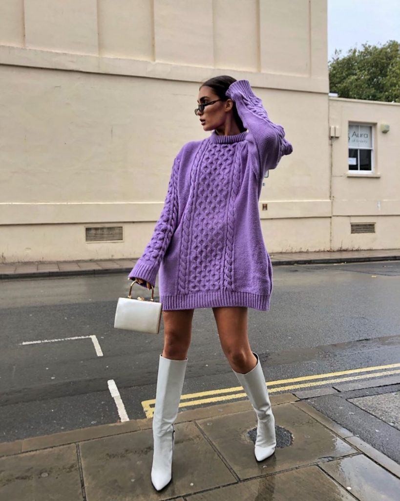 Tips Mempercantik Gaya Pakai Sweater